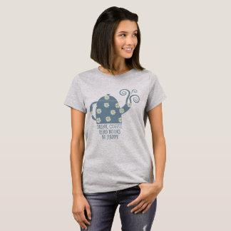 Retro T-Shirt: Drink Coffee, Read Books, Be happy T-Shirt