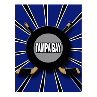 RETRO TAMPA BAY HOCKEY POSTCARD