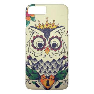 retro tattoo flash owl iPhone 7 plus case