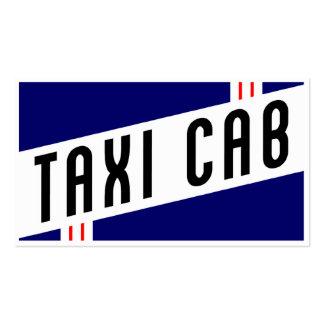 retro taxi cab business card