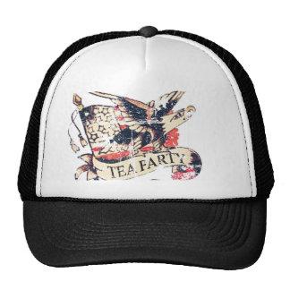 Retro Tea Party America Hat