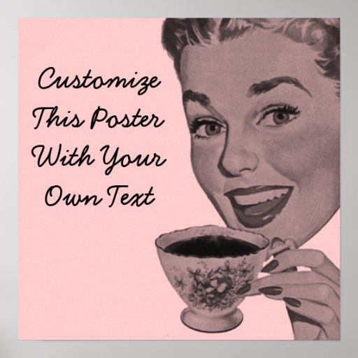 Retro Tea Print
