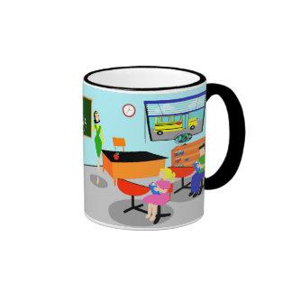 Retro Teacher Mug