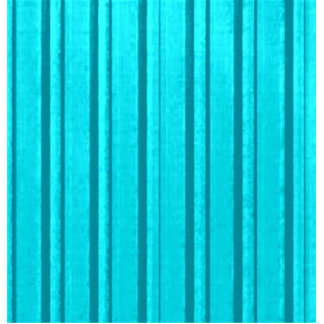 Retro Teal Stripe Standing Photo Sculpture