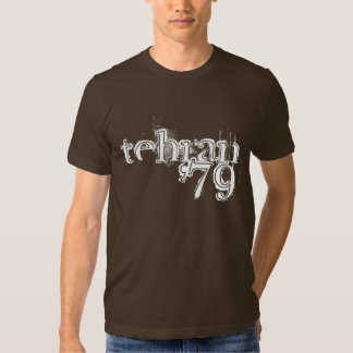 "Retro ""tehran '79"" t shirt"