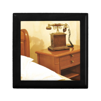 Retro telephone gift box