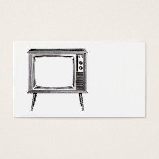 Retro Television Business Card