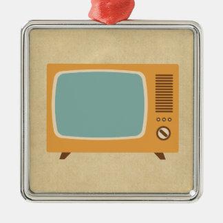 Retro Television Set Christmas Ornament