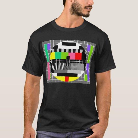 'Retro television ' shirt for man