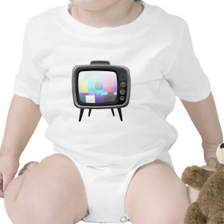 Retro Television Romper