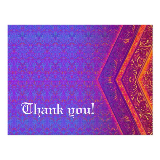 Retro Thank you! - Special Postcard