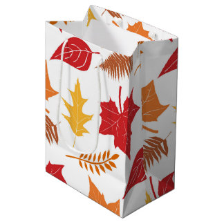 Retro Thanksgiving Medium Gift Bag