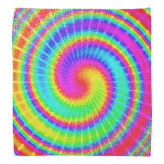 Retro Tie Dye Hippie Psychedelic Bandanna