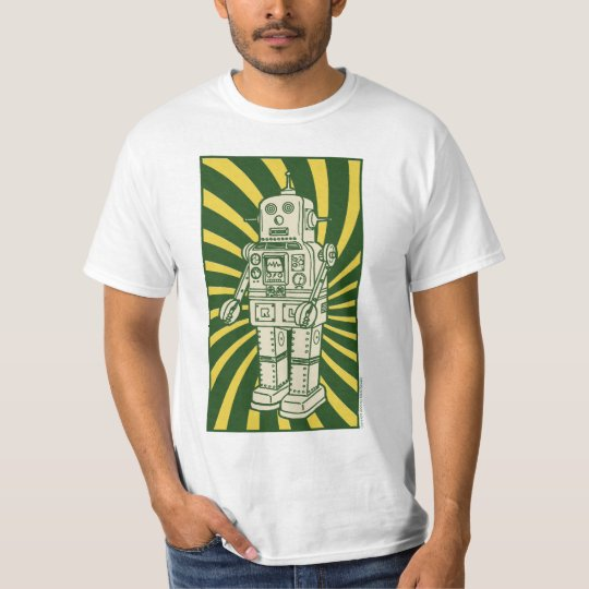 Retro TIN ROBOT T-shirt