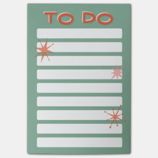 Retro to do list post-it® notes