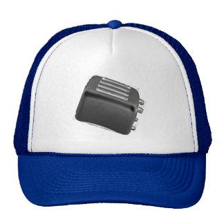Retro Toaster - Black & White Negative Cap