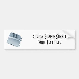 Retro Toaster - Blue Bumper Sticker