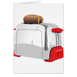 Retro Toaster Card