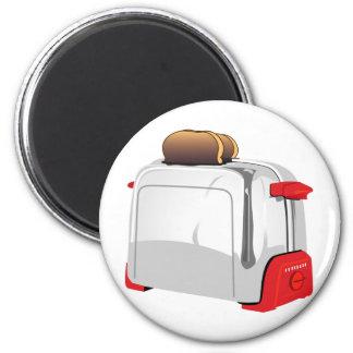 Retro Toaster Magnet