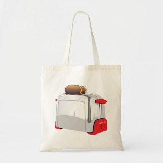 Retro Toaster Tote Bags