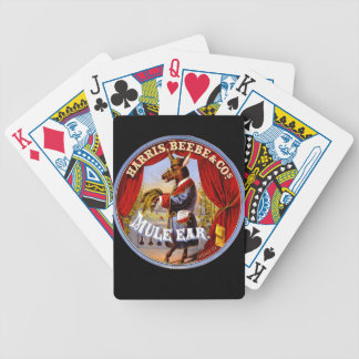Retro Tobacco Label 1868 b Bicycle Playing Cards