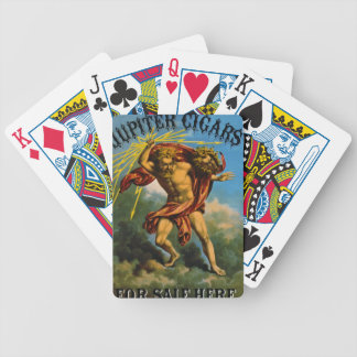 Retro Tobacco Label 1868 Bicycle Playing Cards