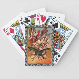 Retro Tobacco Label 1869 a Poker Deck