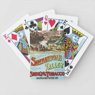 Retro Tobacco Label 1869 b Poker Deck
