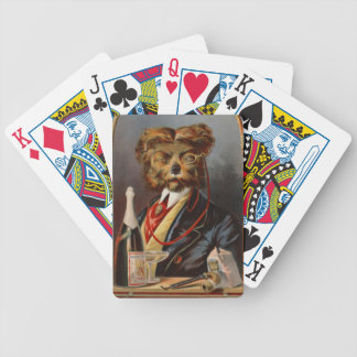 Retro Tobacco Label 1869 Bicycle Playing Cards