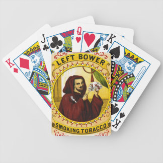 Retro Tobacco Label 1869 c Bicycle Playing Cards