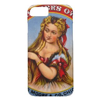 Retro Tobacco Label 1872 a iPhone 7 Case