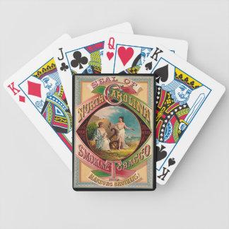 Retro Tobacco Label 1879 Poker Deck