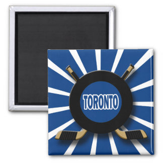 RETRO TORONTO HOCKEY MAGNET