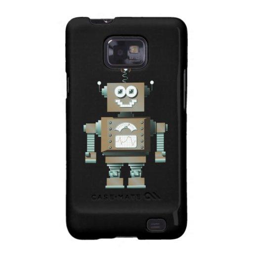 Retro Toy Robot Samsung Galaxy Case (dk) Galaxy S2 Cover