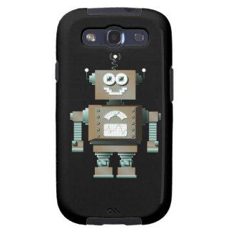 Retro Toy Robot Samsung Galaxy Case (dk) Galaxy SIII Case
