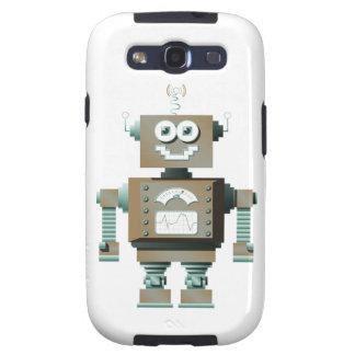 Retro Toy Robot Samsung Galaxy Case (lt) Samsung Galaxy SIII Cases