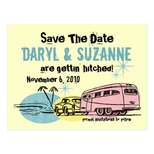 Save the date trailer in Sydney