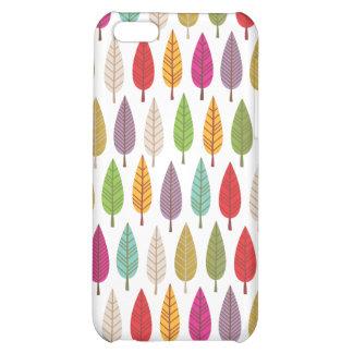 Retro tree nature pattern design iphone case iPhone 5C case