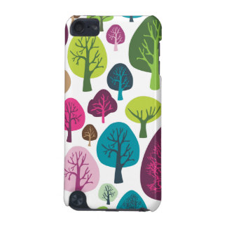 Retro tree nature pattern design ipod case iPod touch (5th generation) case