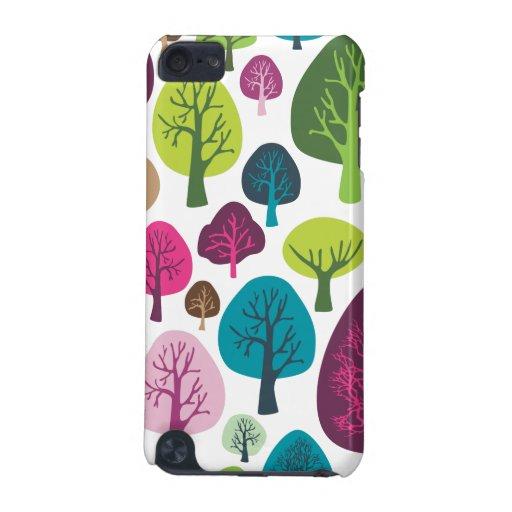 Retro tree nature pattern design ipod case iPod touch (5th generation) case