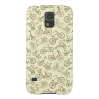 Retro Trendy Bicycle Pattern Galaxy S5 Cases
