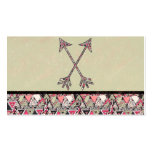 Retro Tribal Arrows Vintage Earth Aztec Pattern Pack Of Standard Business Cards