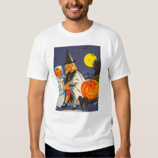 Retro Trick or Treaters T-shirt