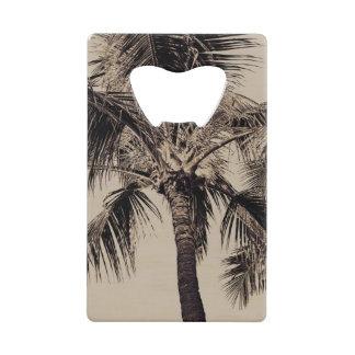 Retro Tropical Island Palm Tree Black and White