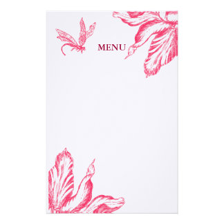 Retro Tulip Stationery