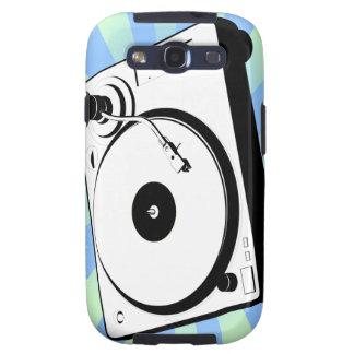 Retro Turntable Galaxy S3 Cases