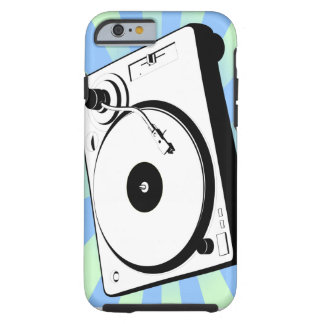 Retro Turntable Tough iPhone 6 Case