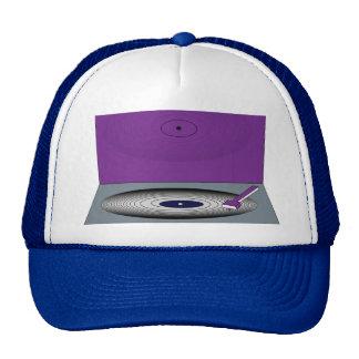 RETRO TURNTABLE DJ's Trucker Hat