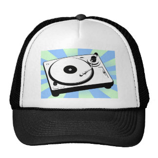 Retro Turntable Mesh Hats
