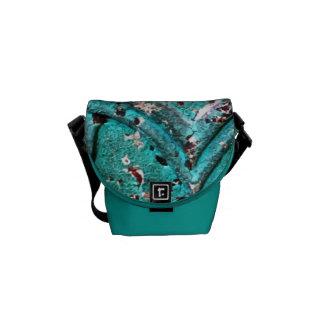 Retro Turquoise Bag Commuter Bag
